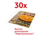 """Roczna prenumerata """"Moje gotowanie"""""""